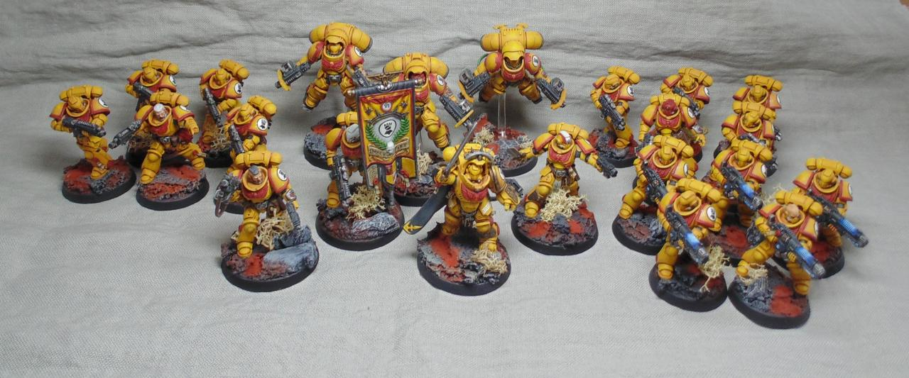 Primaris Imperial Fist Familly par Nilval