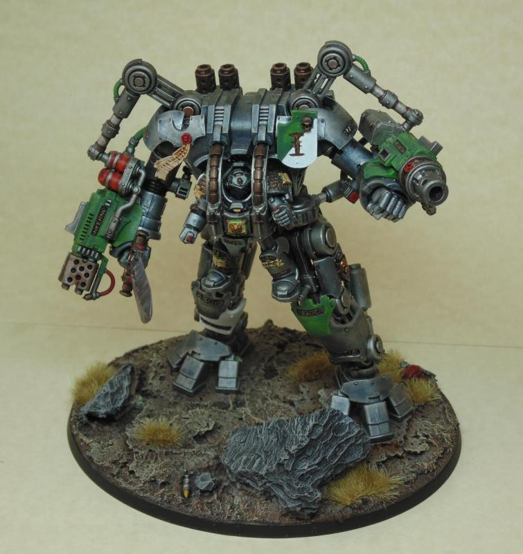 Dreadknight nemesis 1 grey knights par Nilval